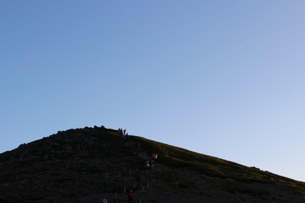 乗鞍岳・ご来光バスがはじまりました。