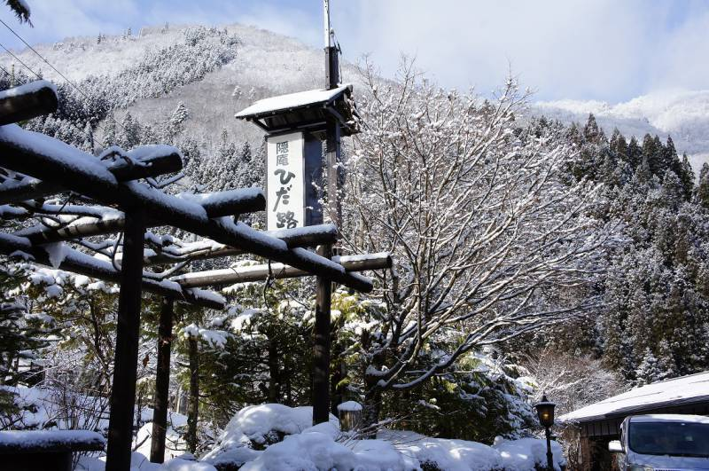 綺麗な雪景色