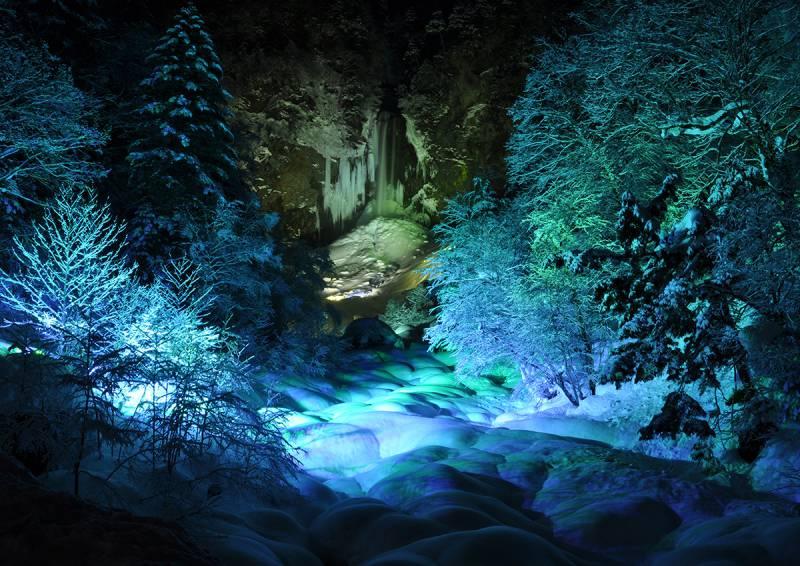 【平湯大滝結氷祭り】のご案内