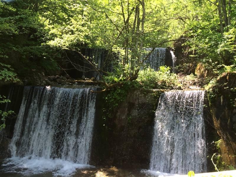 福地温泉での小水力発電事業がスタートします