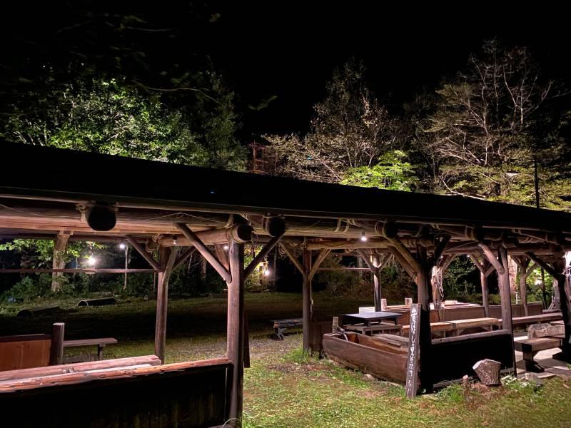福地温泉でライトアップイベントを開催します