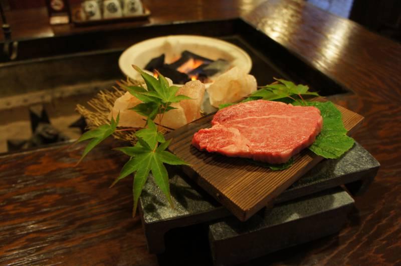 飛騨牛フィレ肉の提供はじめました。